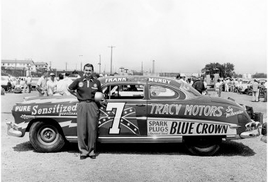 african american race car driver 1955